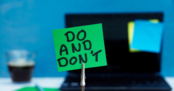 DOS AND DON'TS OF MARKETING E-NEWSLETTERS