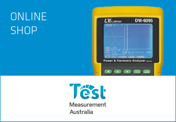 Test Measurement Australia Online Shop
